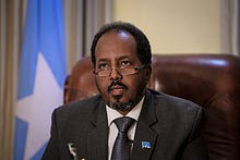 President Hassan Sheikh Mohamud will be defending his seat, in the face of accusations of performing below par.