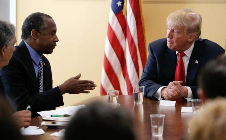 Trump offered Dr. Ben Carson the cabinet post of secretary of housing and urban development