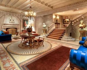 Inside the Dagote's Residence in Nigeria, West Africa