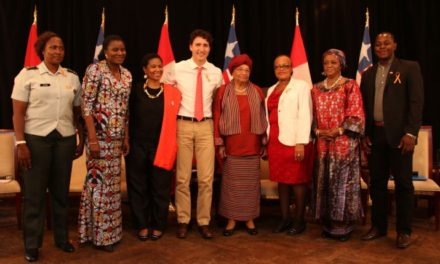 Canada's PM Justin Trudeau Starts Africa's Tour with Poorly Governed Liberia