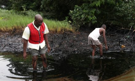 Nigerian citizens sued Shell for 'decades of oil spills'