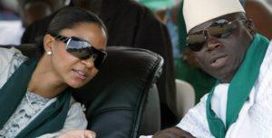 President Jammeh and wife Zainab