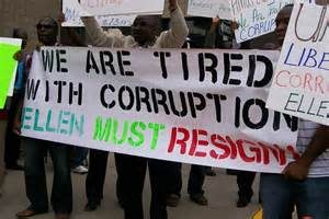 Liberians stand against widespread corruption