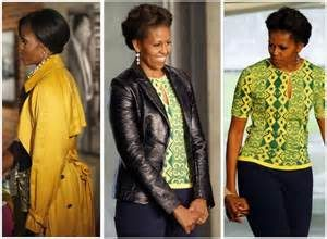 First Lady Michele Obama flashes varieties of African fashion wears