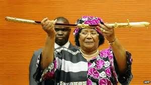Former Malawi's president, Joyce Banda