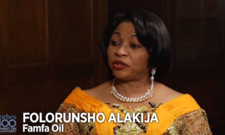 A Glance at Africa's Richest Woman – Folorunsho Alakija