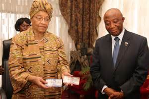 Liberia's Vice President Boakai Draws Clear Distinction With President Sirleaf