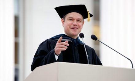 Matt Damon's MIT Commencement address: Best Speech of 2016