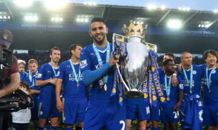 Leicester's Mahrez Named Africa's Best Player of 2016