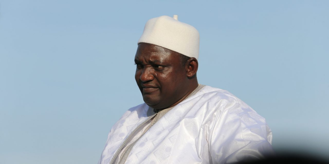 Gambian President Barrow swears in first batch of ministers