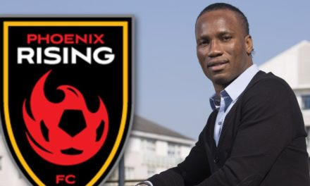 Didier Drogba Breaking New Ground