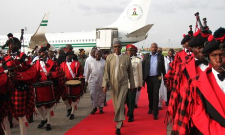 He is back: Nigeria's Buhari returned home after sick leave in the UK