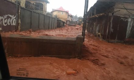 Flooding sweeps through Sierra Leone's capital, 312 dead