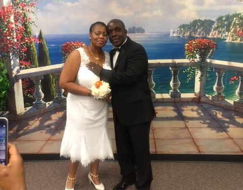 Thomas Jarbo Weds Patience Elliott in Wilmington, Delaware, USA