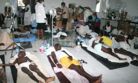 WHO says about 850,000 received cholera vaccine in Nigeria