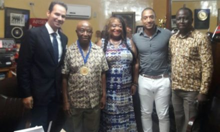 Liberia's VP Receives Italian Guests; Discusses Investment Opportunity