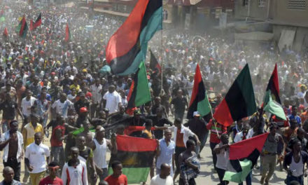 Fearing Secession, Nigerian troops clash with Pro-Biafra supporters