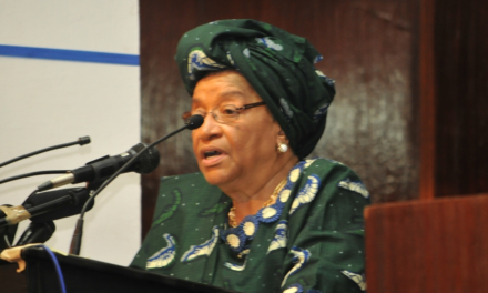 President Ellen Johnson Sirleaf urges free, fair elections in October