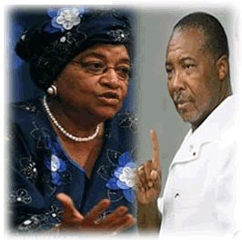 President Sirleaf allegedly making secret amends with Charles Taylor