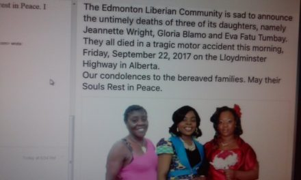 Four Liberian dead, One Critical in Fatal Car Crash from Canada