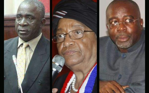 Verdier, Koffa and Cherue Mum on US$18 Million Road Construction Scandal