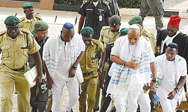 Nigerian president Buhari denounces Biafran secessionists, corruption