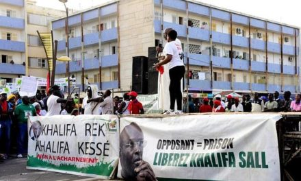 Supporters of jailed Senegalese mayor protest in Dakar, urged immunity