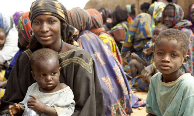 Starvation threatens the lives of thousands of Malian children