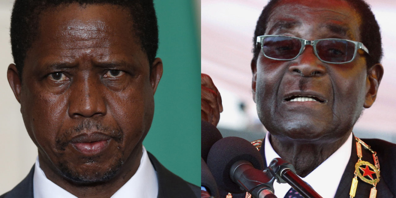 Mugabe announces retirement, Zambian president cuts salary by half