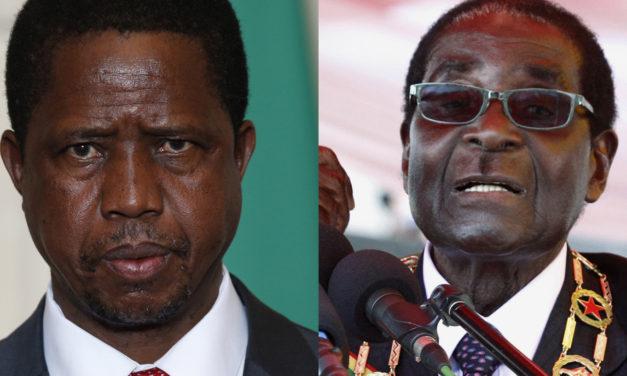 Mugabe announces retirement, Zambian president cuts salary by half