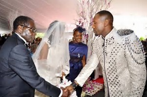 Mugabe spends millions of dollars on daughter's wedding