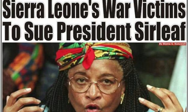 President Sirleaf, Compaoré To Face Int'l Lawsuit from Sierra Leone's War Victims