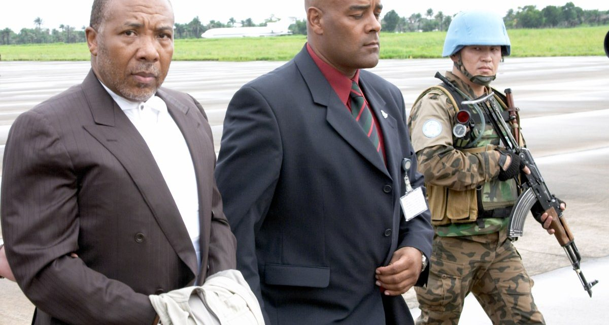 United States Concerned Over Charles Taylor's Involvement in Liberia's Presidential Election