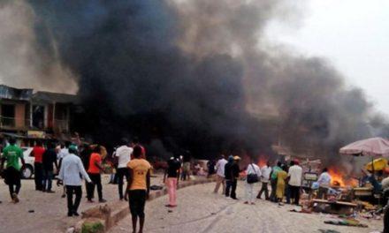 Triple suicide attack kills 13 in northern Nigeria: security sources