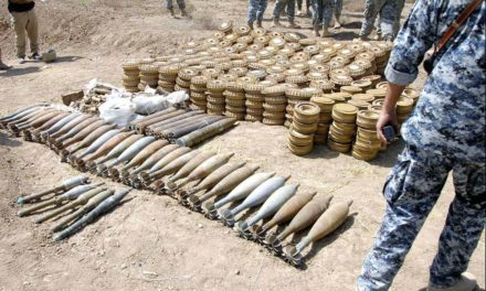 Algerian Military Uncovers enormous weapons on border with Mali