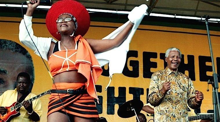 South Africa's Music; R.I.P Brenda Fassie and Nelson Mandela