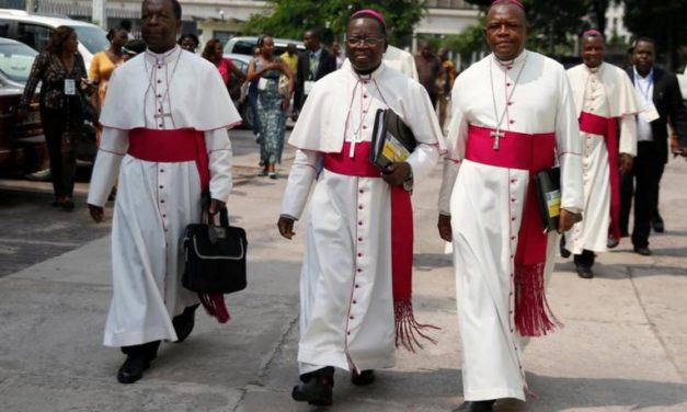 Catholic Bishops Urged DR Congo president to pledge to stand down