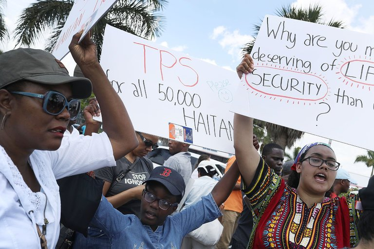 Trump Administration Halts Temporary Protection for Haitians