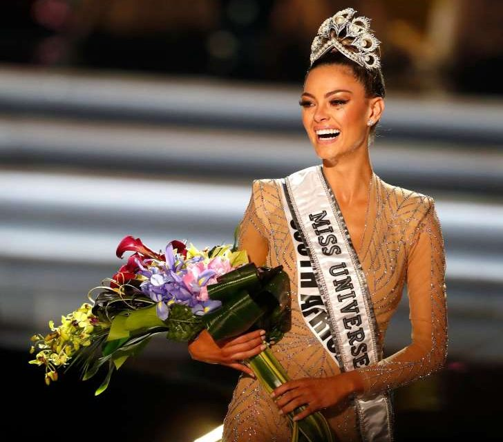 Miss South Africa Demi-Leigh Nel-Peters Wins Miss Universe 2017