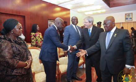 Ghana, Italy resolved to heighten bilateral relations
