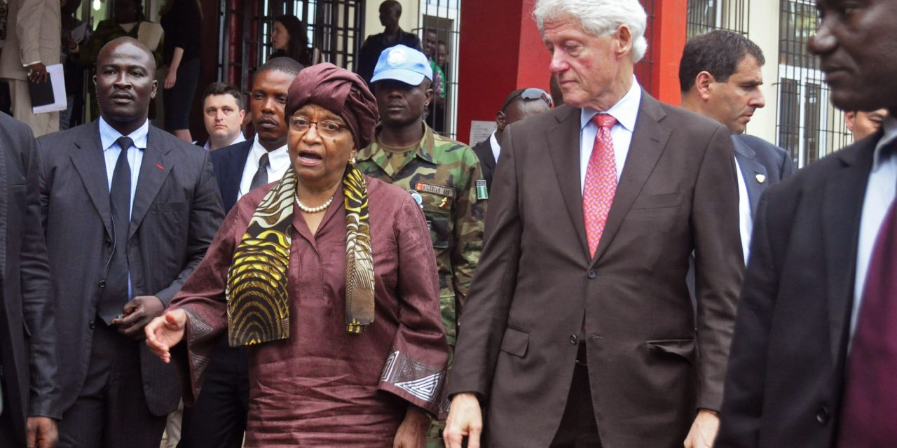 Clinton arranges Little Rock event with embattled Liberian leader