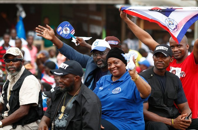 Liberia's soccer star, George Weah, wins presidential election
