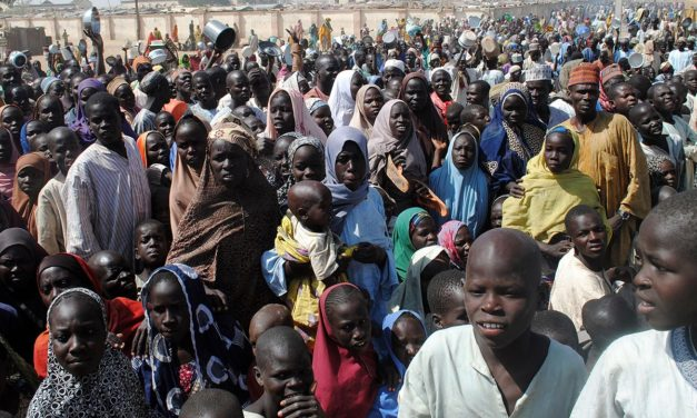 Two teenage girl suicide bombers killed 4 people Nigeria's north