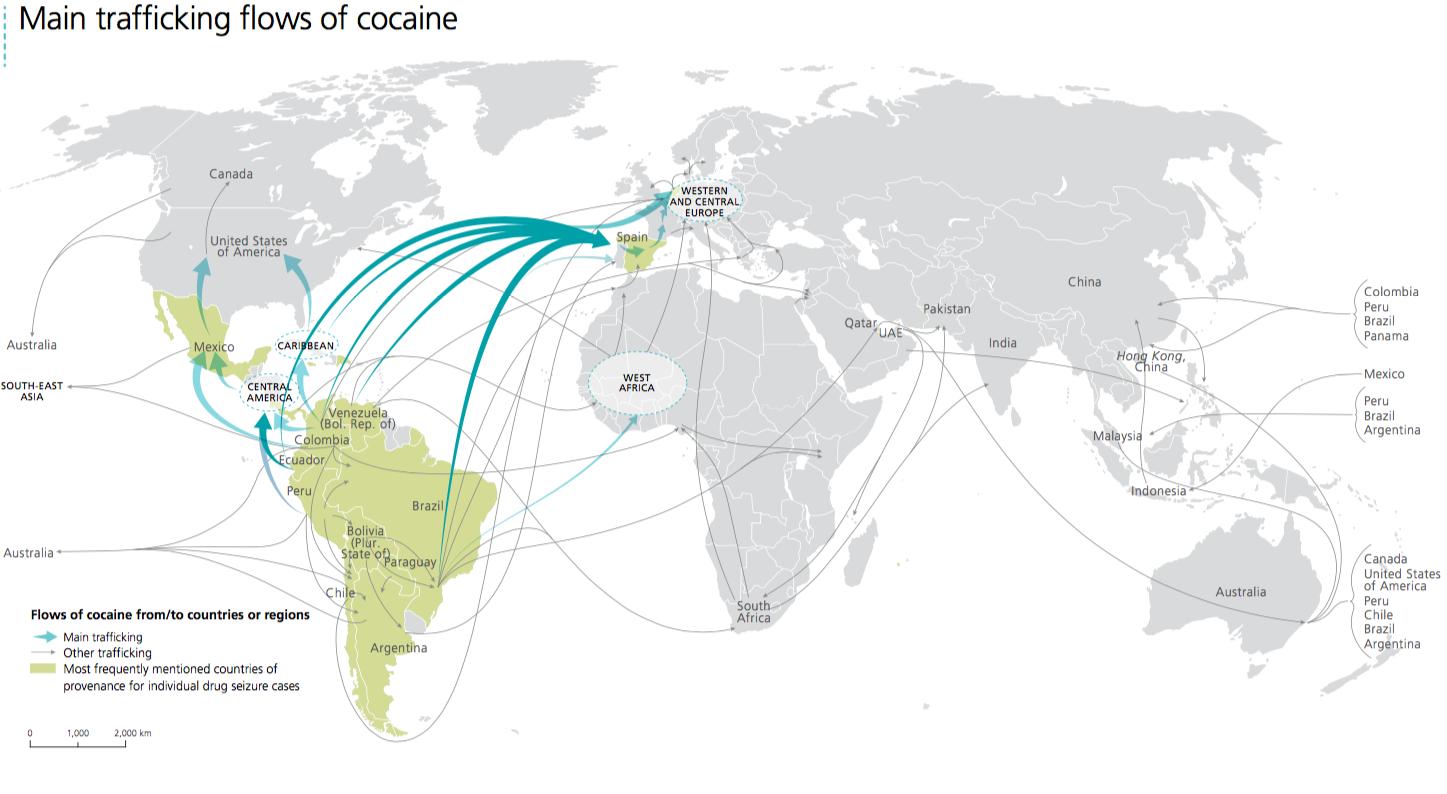 Sirleaf S Liberia The Eye Of The Storm In Drug Trade Globe