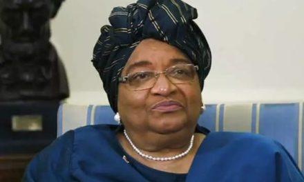 Liberia's president Ellen Johnson Sirleaf writes Honorable Chris Neyor