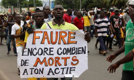Protests in Togo continued as president chaired ECOWAS summit