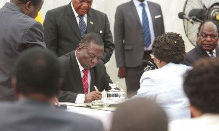 Zimbabwe's New President has already begun stumbling politically