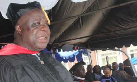 University of Liberia's 98th Commencement Speaker, Dr. Thomas Jaye, Grimaces Bad Governance