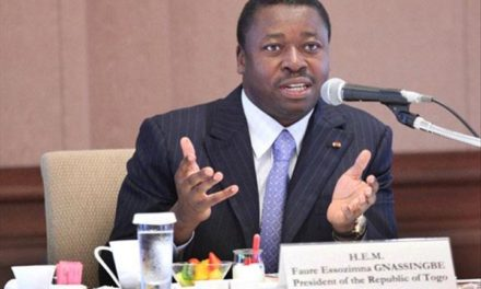 In New Year address, politically besieged Togo's president seeks dialogue