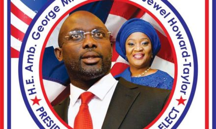 A Liberian professional Protests unruly attitude against President-elect Weah and Vice President-elect Howard Taylor